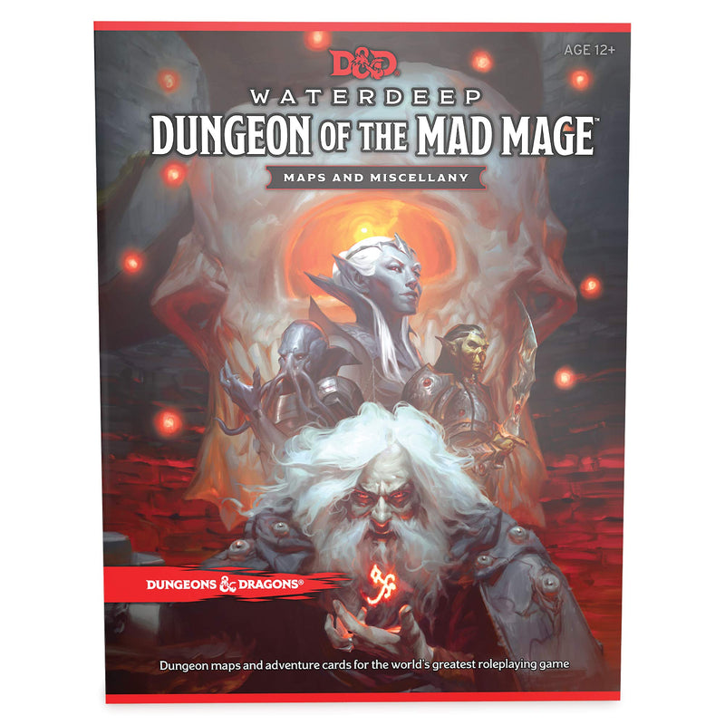 D&D Waterdeep Dungeon Of The Mad Mage Map Pack - Dungeons and Dragons - The Hooded Goblin