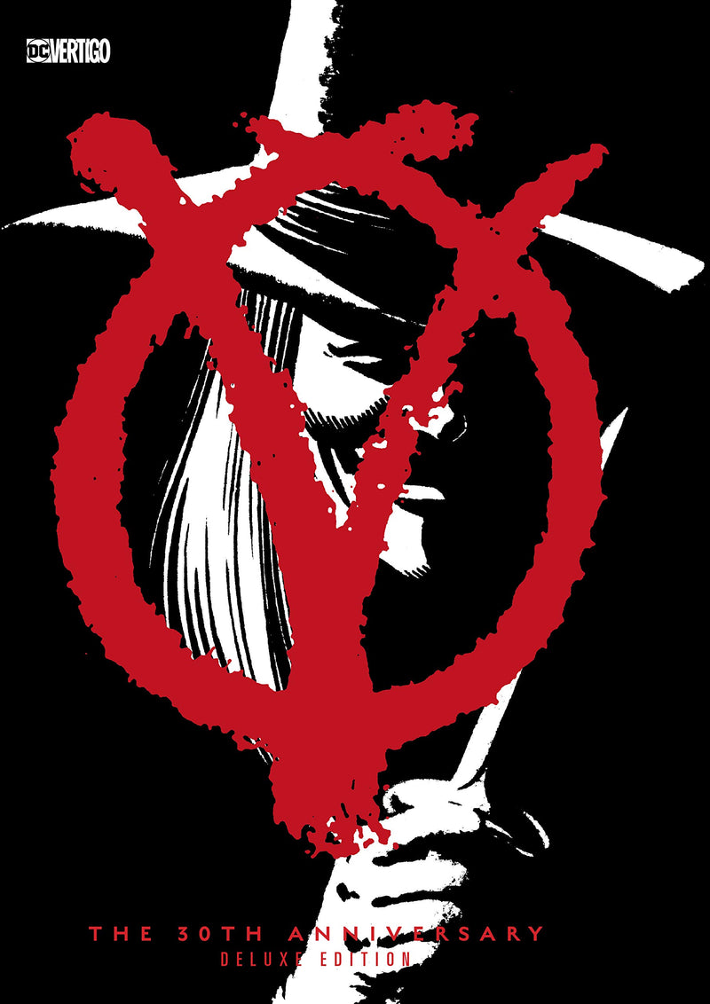 V for Vendetta 30th Anniversary Deluxe Edition Hardcover - Graphic Novel - The Hooded Goblin