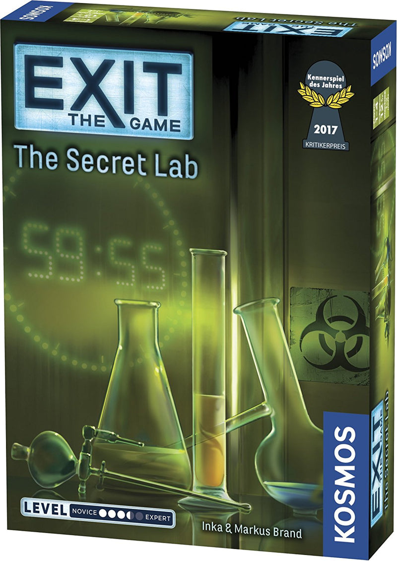 Exit the Game: The Secret Lab - Board Game - The Hooded Goblin