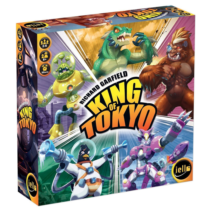 King of Tokyo by Richard Garfield - Board Game - The Hooded Goblin