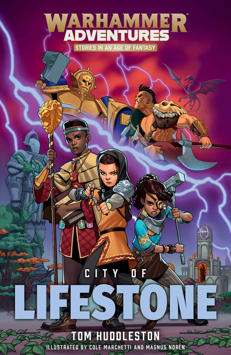 Warhammer Adventures: City of Lifestone - Book - The Hooded Goblin