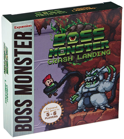 Boss Monster: Crash Landing Game