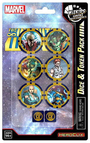 Marvel HeroClix: Avengers Infinity Dice and Token Pack
