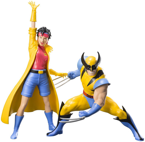 X-Men '92 Wolverine and Jubilee