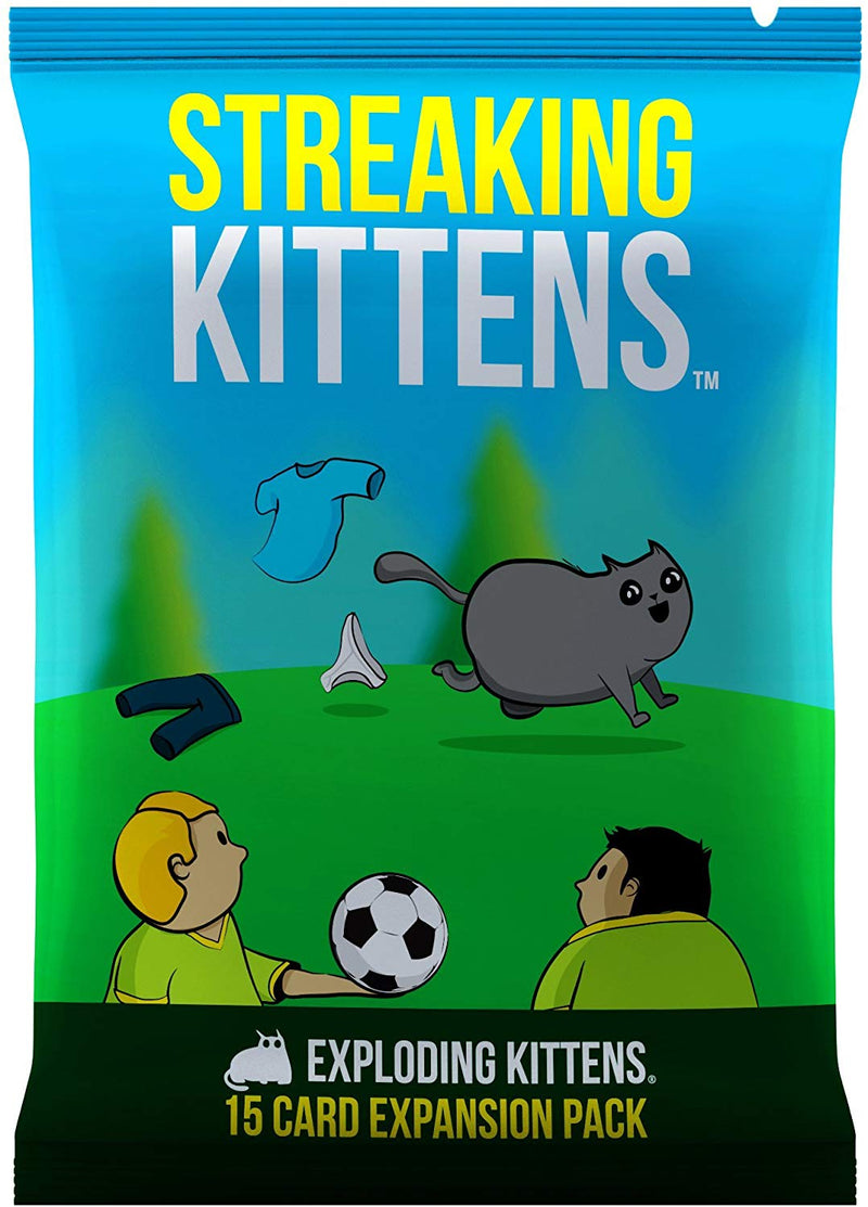 Streaking Kittens Exploding Kittens Expansion Pack - Card Game - The Hooded Goblin
