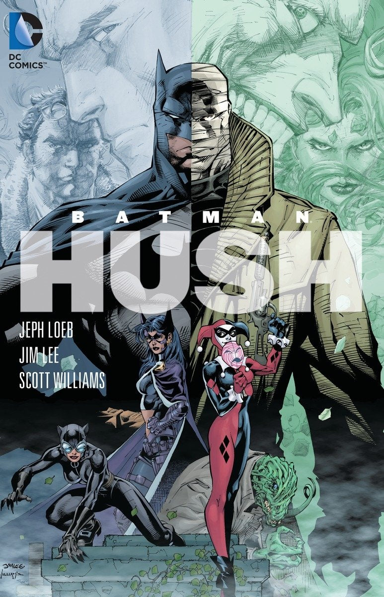 Batman Hush Paperback - Graphic Novel - The Hooded Goblin