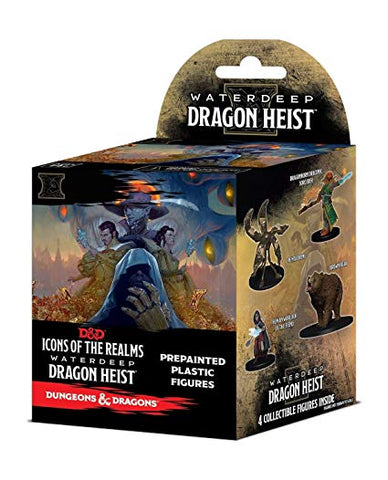 D&D - Icons of the Realms: Dragon Heist Booster Pack