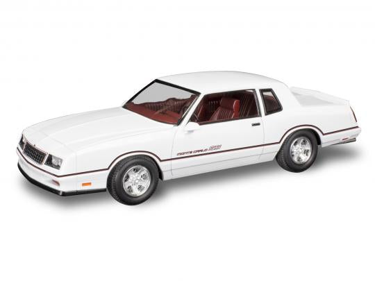 1986 Chevrolet Monte Carlo SS 2N1 Scale: 1/24 Product number: 85-4496 - Model Kit - The Hooded Goblin