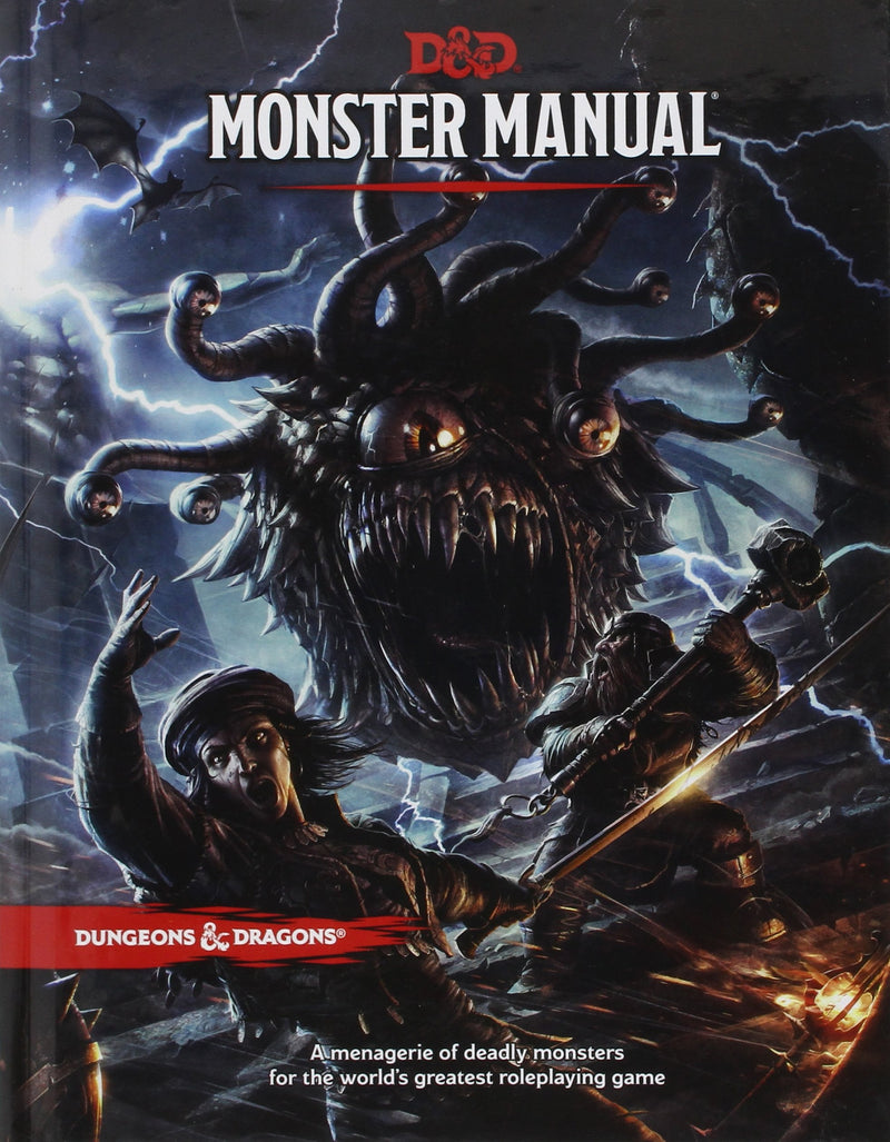 Dungeons and Dragons Monster Manual - Roleplaying Games - The Hooded Goblin
