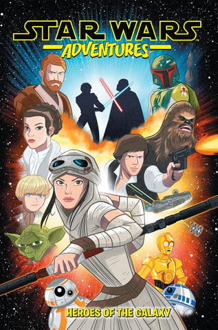 Star Wars Adventures Vol. 1: Heroes of the Galaxy Paperback