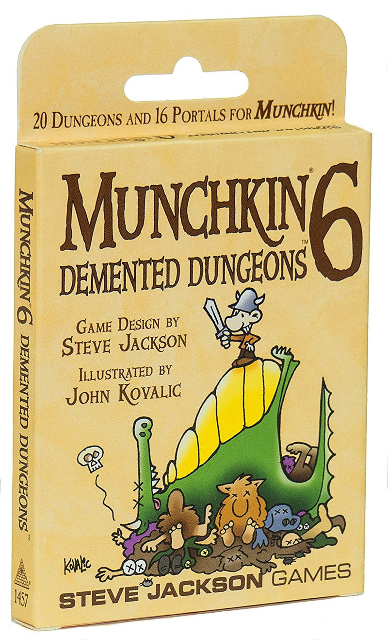 Munchkin 6 Demented Dungeons - Card Game - The Hooded Goblin