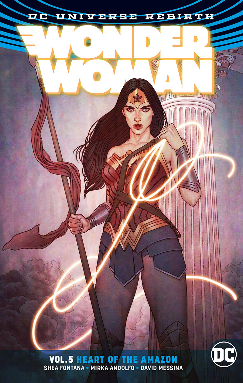 Wonder Woman Vol. 5: Heart Of The Amazon (Rebirth) - Graphic Novel - The Hooded Goblin