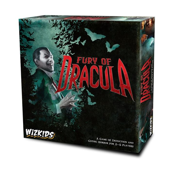 Fury Of Dracula - 4Th Edition - Board Game - The Hooded Goblin