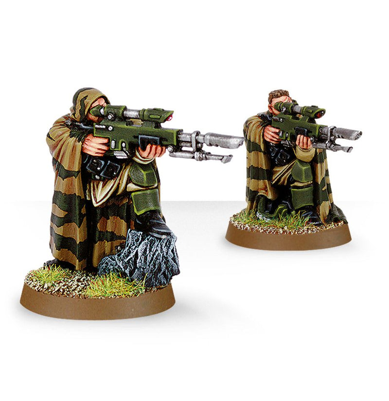 Cadian Snipers - Warhammer: 40k - The Hooded Goblin