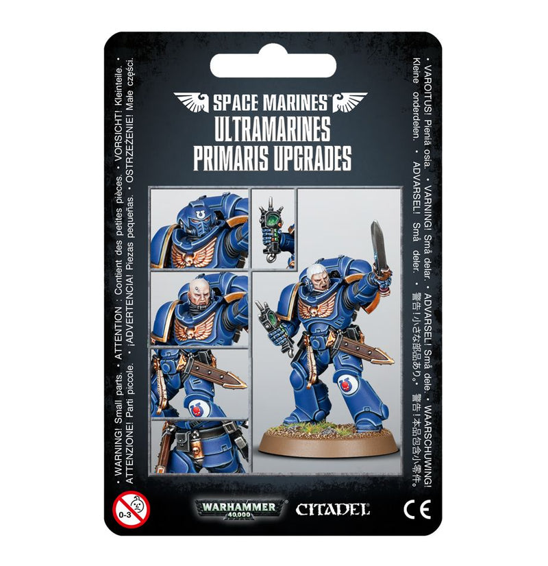 Ultramarines Primaris Upgrades - Warhammer: 40k - The Hooded Goblin