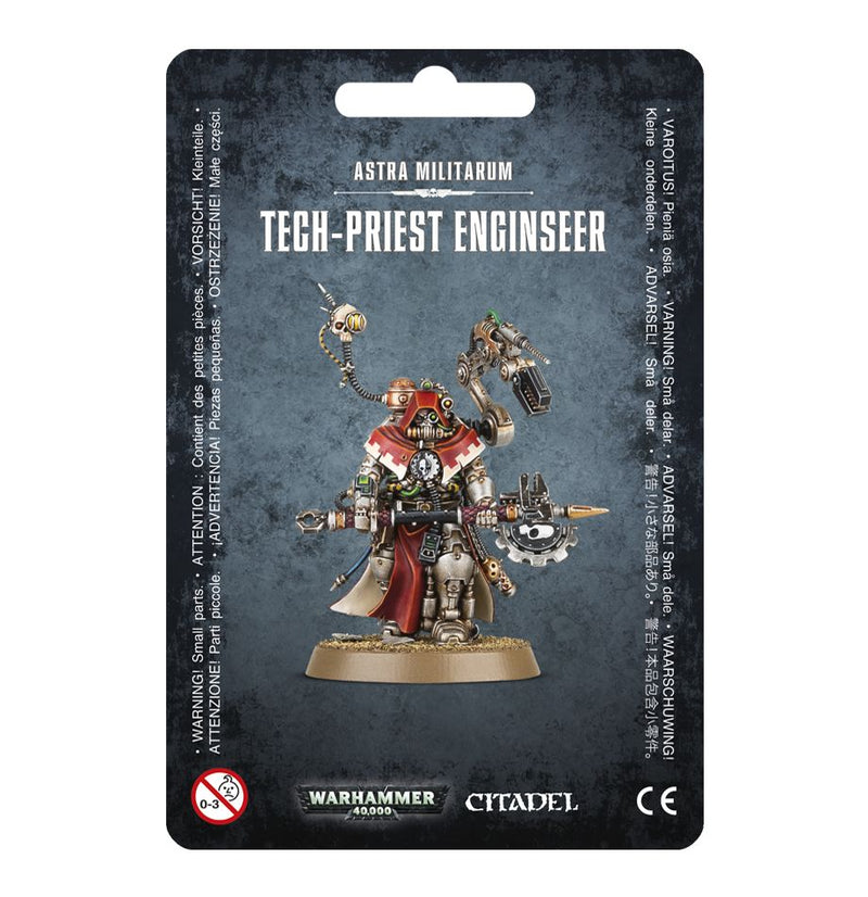 Tech-Priest Enginseer - Warhammer: 40k - The Hooded Goblin