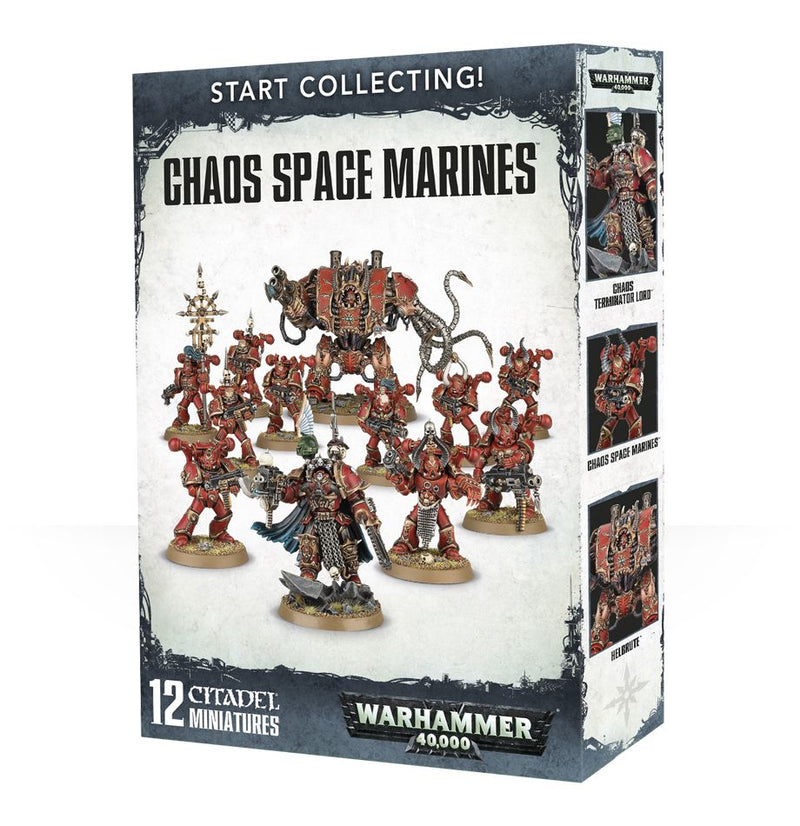Start Collecting! Chaos Space Marines - Warhammer: 40k - The Hooded Goblin