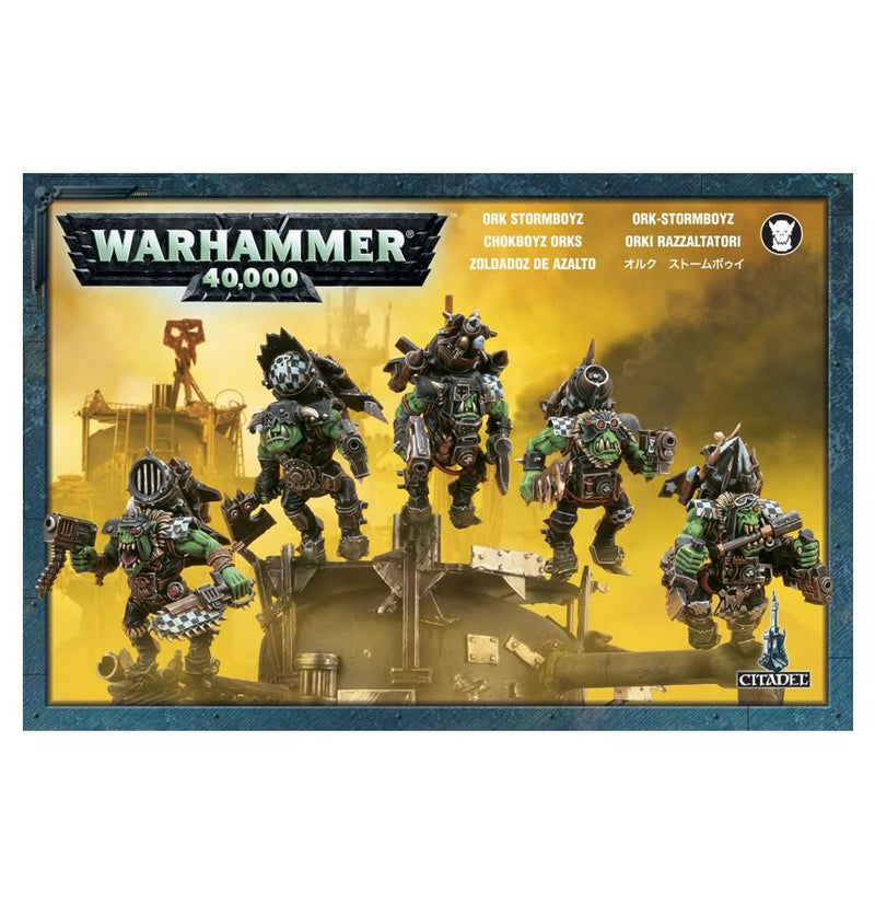 Ork Stormboyz - Warhammer: 40k - The Hooded Goblin
