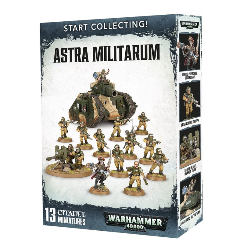 Start Collecting: Astra Militarum - Warhammer: 40k - The Hooded Goblin