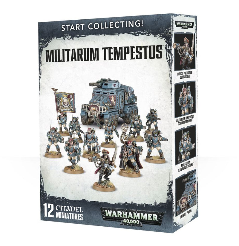 Start Collecting! Militarum Tempestus - Warhammer: 40k - The Hooded Goblin