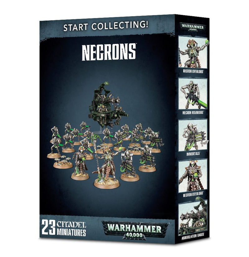 Start Collecting: Necrons - Warhammer: 40k - The Hooded Goblin