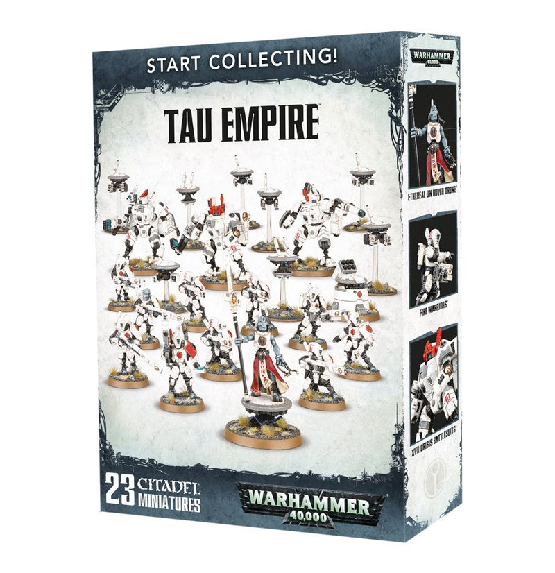 Start Collecting: Tau Empire - Warhammer: 40k - The Hooded Goblin