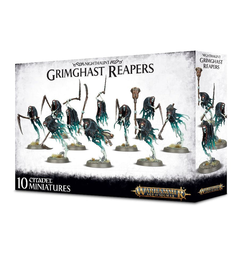 Nighthaunt Grimghast Reapers - Warhammer: Age of Sigmar - The Hooded Goblin