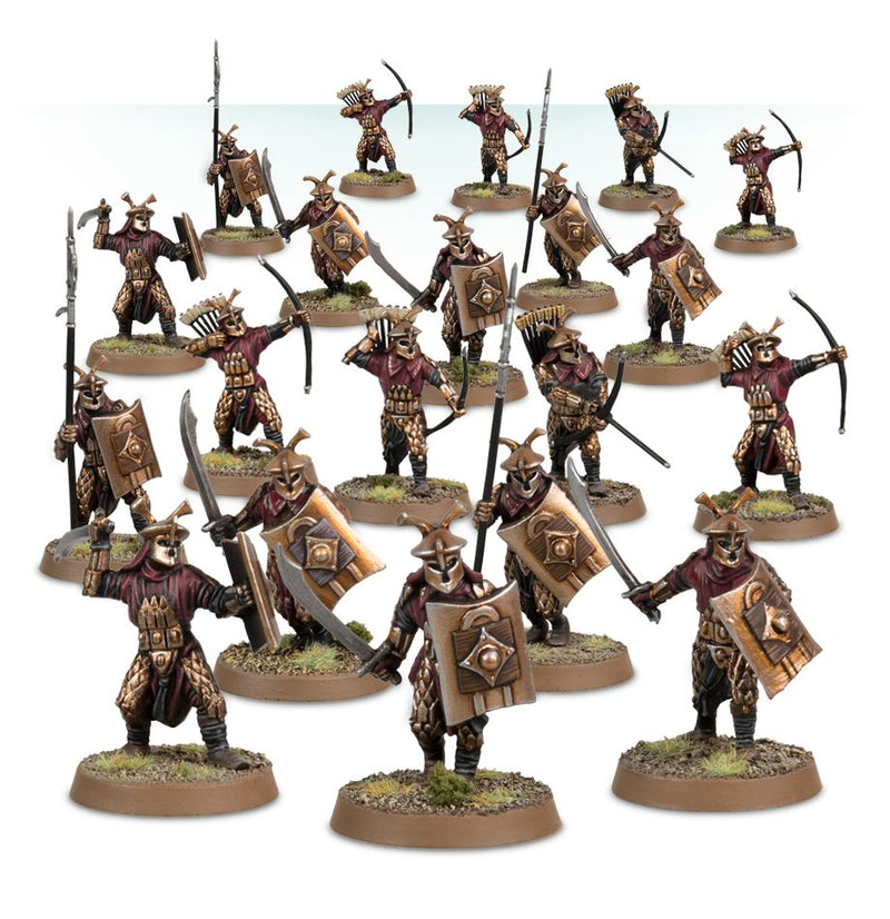 EASTERLING WARRIORS - Middle Earth Strategy Battle Game - The Hooded Goblin