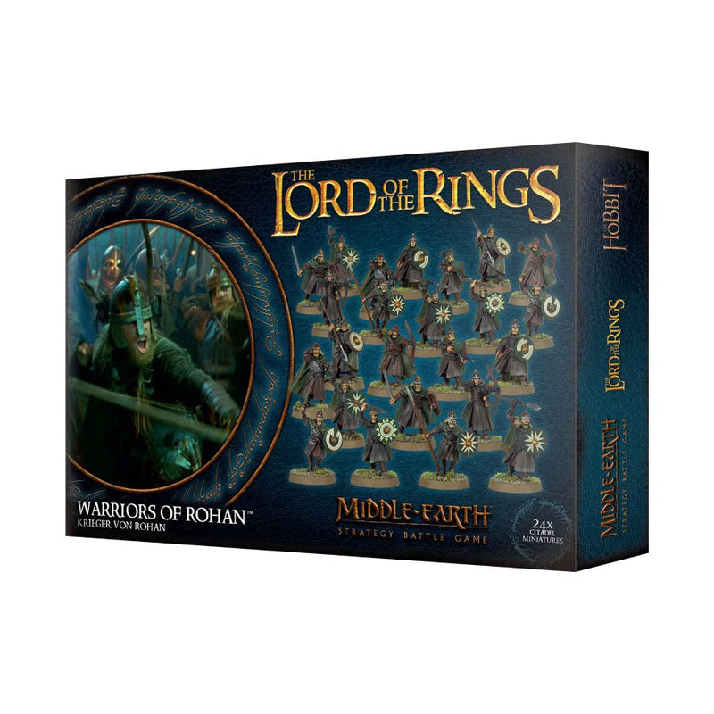 Warriors Of Rohan - Middle Earth Strategy Battle Game - The Hooded Goblin