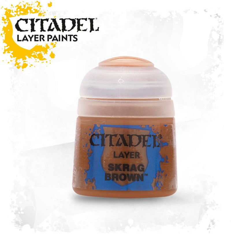 Skrag Brown - Citadel Painting Supplies - The Hooded Goblin