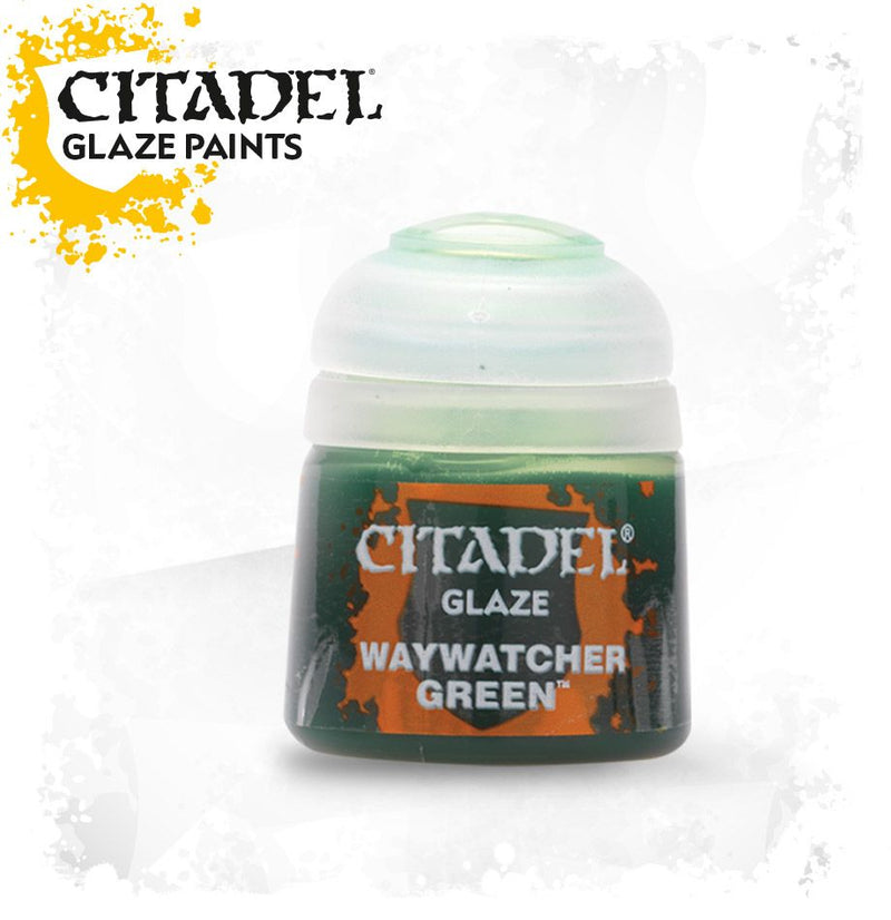 Waywatcher Green (Glaze) - Citadel Painting Supplies - The Hooded Goblin