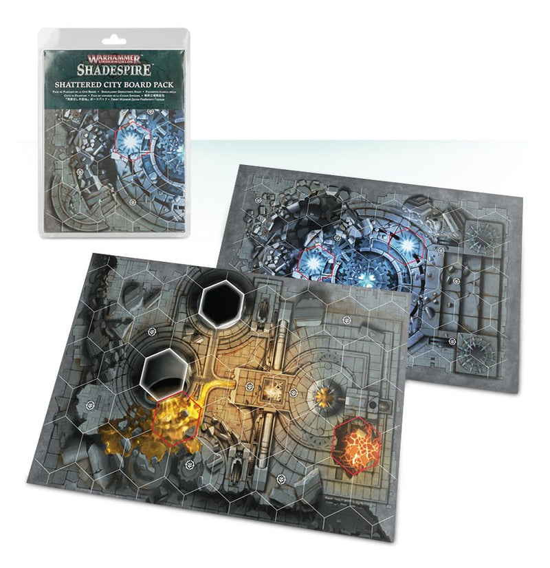 Warhammer Underworlds: Shadespire – Shattered City Board Pack - Shadespire - The Hooded Goblin