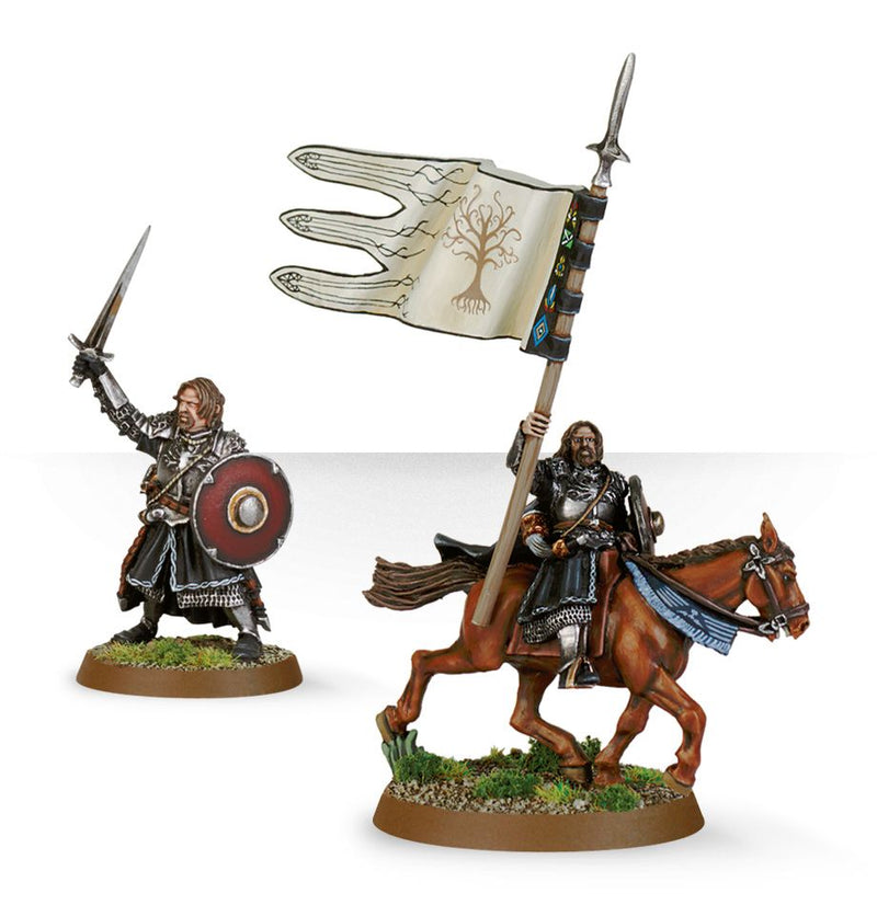 Armoured Boromir (Foot & Mounted) - Middle Earth Strategy Battle Game - The Hooded Goblin