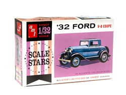 AMT 1932 Ford Scale Stars 1:32 Scale Model Kit - Model Kit - The Hooded Goblin