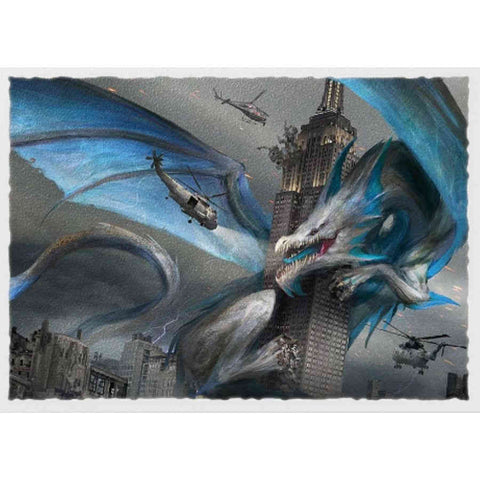DRAGON SHIELD SLEEVES: MATTE ART: EMPIRE STATE DRAGON