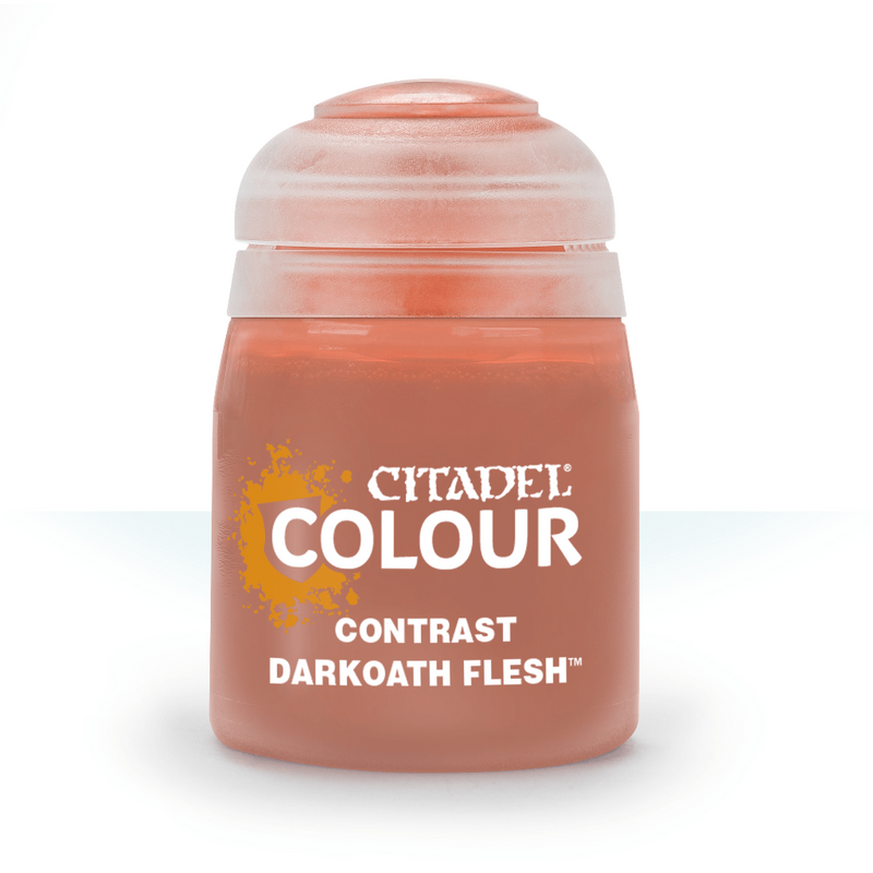 CONTRAST: DARKOATH FLESH (18ML) - Citadel Painting Supplies - The Hooded Goblin