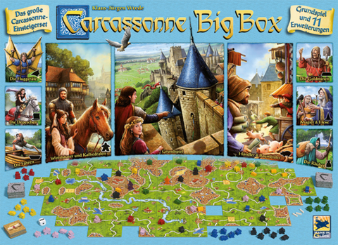 Carcassonne: Big Box 6th Edition