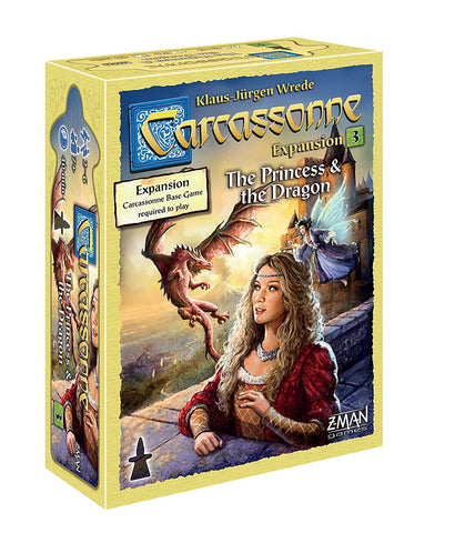Carcassonne: The Princess and the Dragon (expansion 3)