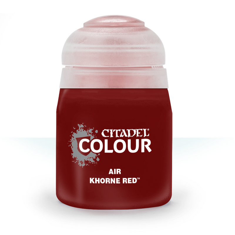 AIR: KHORNE RED (24ML) - Citadel Painting Supplies - The Hooded Goblin