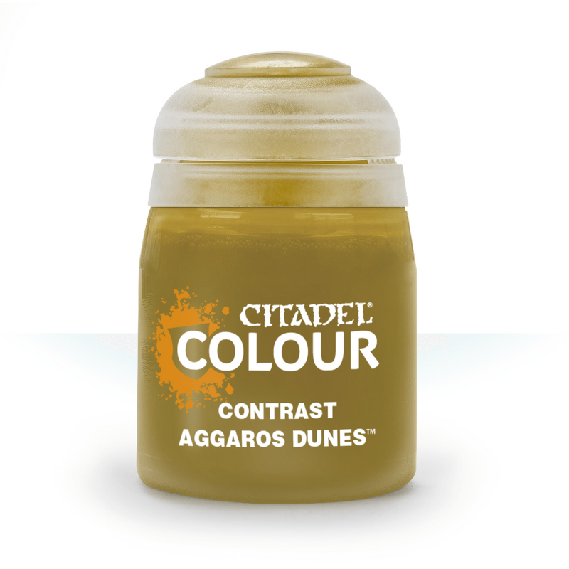 Contrast: Aggaros Dunes (18Ml) - Citadel Painting Supplies - The Hooded Goblin
