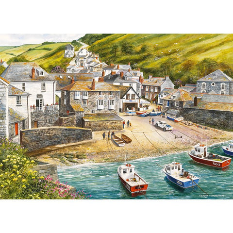 Port Isaac - 500pc Jigsaw Puzzle by Gibson