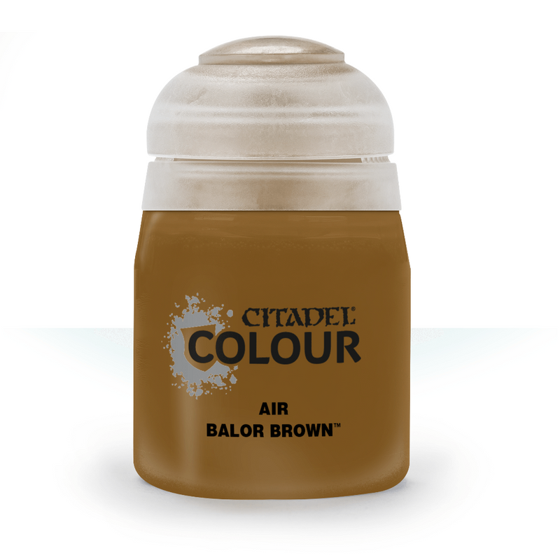 Air: Balor Brown (24Ml) - Citadel Painting Supplies - The Hooded Goblin