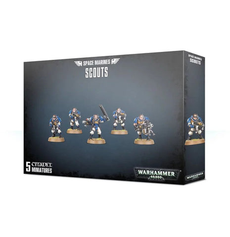 Space Marine Scouts (Bolters)