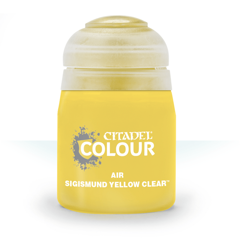 AIR: SIGISMUND YELLOW CLEAR (24ML) - Citadel Painting Supplies - The Hooded Goblin
