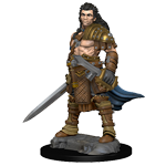 PF UNPAINTED MINIS WV 1 HUMAN MALE FIGHTER (144)