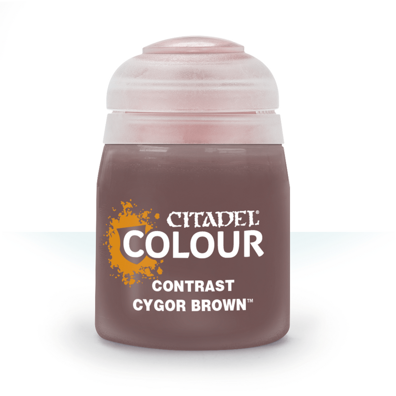Contrast: Cygor Brown (18Ml) - Citadel Painting Supplies - The Hooded Goblin