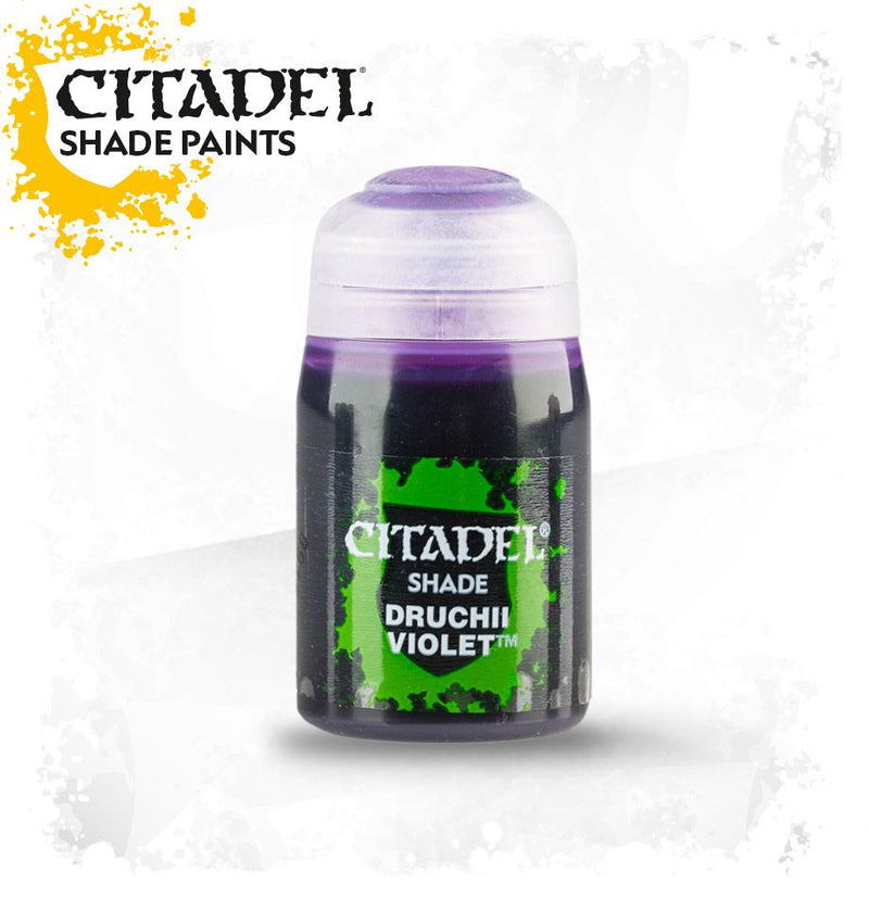 Citadel Shade: Druchii Violet (24ml) - Painting Supplies - The Hooded Goblin