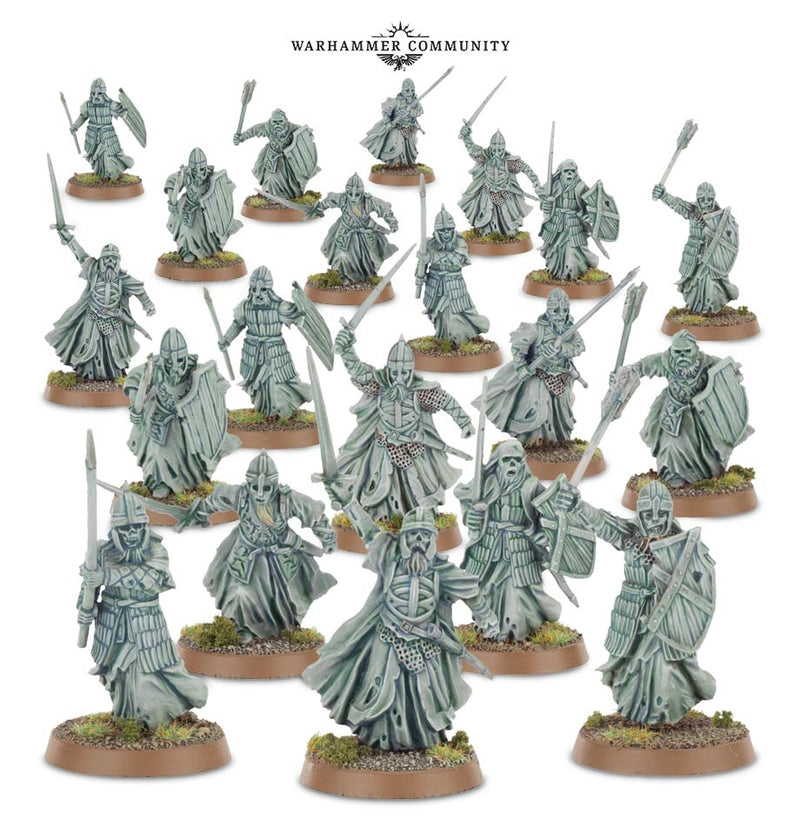 Warriors Of The Dead - Middle Earth Strategy Battle Game - The Hooded Goblin