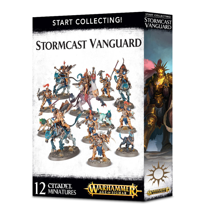 Start Collecting! Stormcast Vanguard - Warhammer: Age of Sigmar - The Hooded Goblin