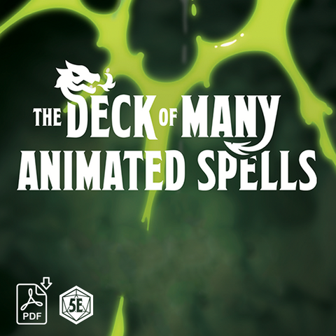 The Deck of Many Animated Spells